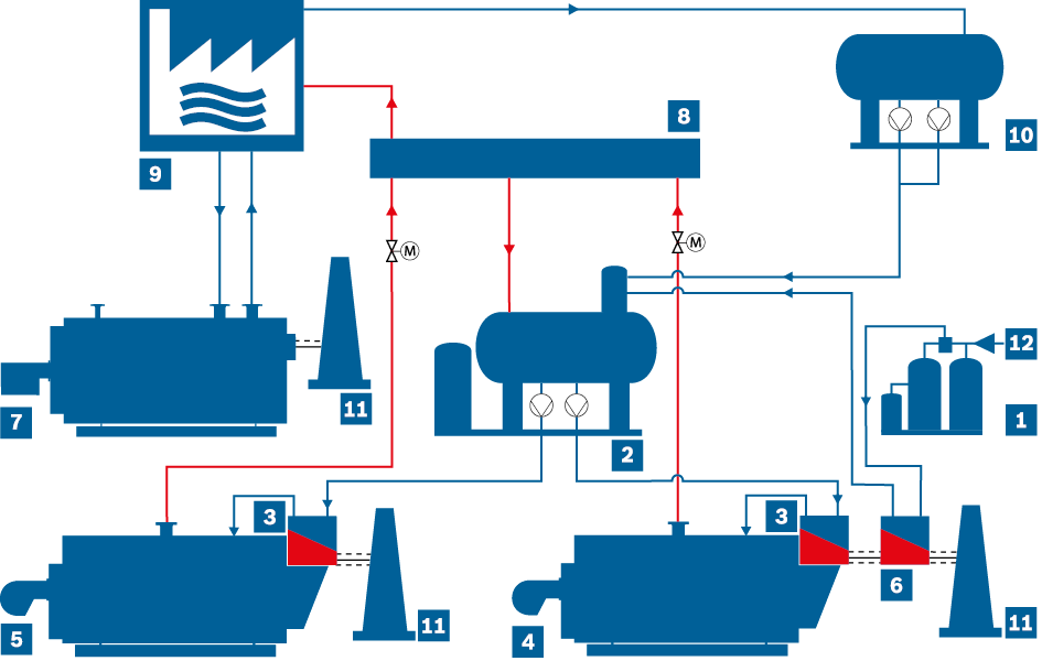 Schematic representation of an open condensate system